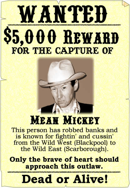 wantedlargejpg – Sample Wanted Poster